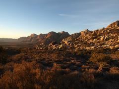 Nevada desert morning Stock Photos