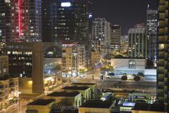 San Diego yö Kuvituskuvat