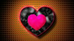 Fractal heart Stock Footage