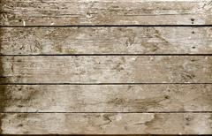 weathered wooden plank sepia - stock photo