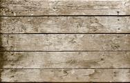 Weathered wooden plank sepia Stock Photos