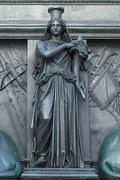 Stock Photo of figure on the monument of maximilian joseph