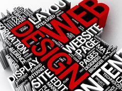 Webdesign Stock Illustration