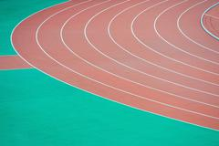 Stock Photo of athletics running track