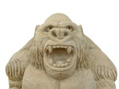 Sand gorilla Stock Photos