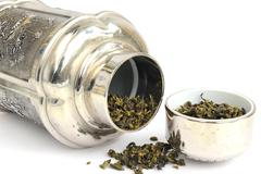 Tea caddy Stock Photos