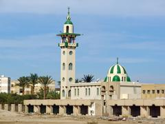 Hurghada, egypt, neglected mosque Stock Photos
