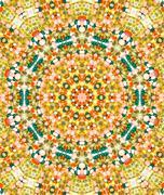 Abstrakti tausta tehty värikkäitä psykedeelinen kuvio Kuvituskuvat