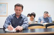 Stock Photo of Adults in the classroom