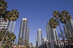 Moderni San Diego Kuvituskuvat
