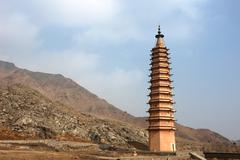 Chinese ancient pagoda Stock Photos