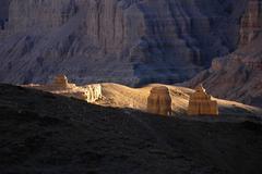 Landscape in west tibet Stock Photos