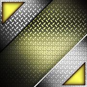 Fluted metal texture. vector illustration Stock Illustration