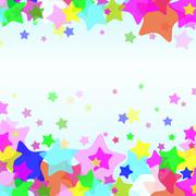 eps10 star background - stock illustration