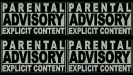 Stock Video Footage of Parental Advisory