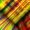 Stock Illustration of motley striped abstract background.