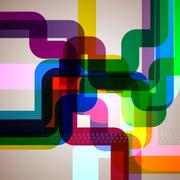 abstract pipes background. - stock illustration