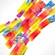 Discount sale abstract background. Stock Illustration