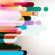 Rainbow striped background. Stock Illustration