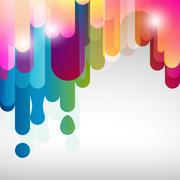 lines colorful background. - stock illustration