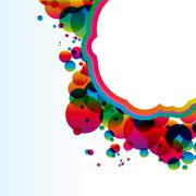 Abstract colorful background. vector. Stock Illustration