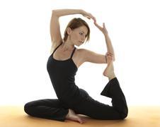 Yoga Asana Stock Photos
