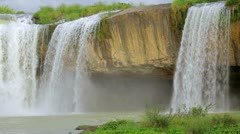Dray Nur waterfall Stock Footage