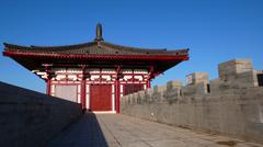 City wall of xian,china Stock Photos
