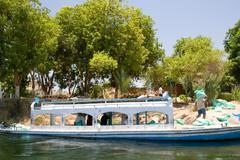 Nile riverbank Stock Photos
