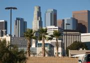 Stock Photo of la palms and towers