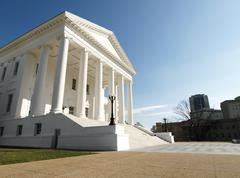 Virginia state capitol statehouse Stock Photos