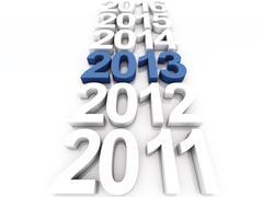 New year 2013 Stock Illustration