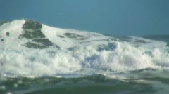 Ocean big wave Stock Footage