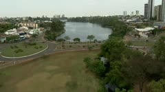 Aerial View of Londrina City Stock Footage