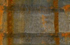Rusty steel sheet of metal Stock Photos