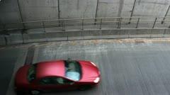 BOSTON - APRIL 6: View of the Zakim Bridge in Boston, MA April 6, 2012 Stock Footage