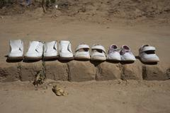 Ghost Children's Shoes Stock Photos