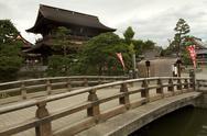 Bridge Buddhist Temple Stock Photos