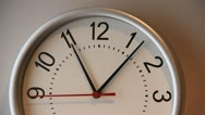 Clock Closeup 30sec 1080 HD  H264 Stock Footage