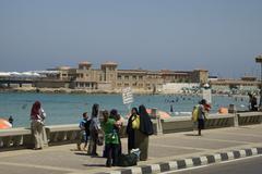 alexandria, egypt - stock photo