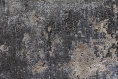 Old dilapidated concrete wall Stock Photos
