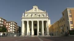 Italy - Benevento - Basilica della Madonna delle Grazie Stock Footage