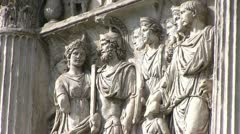 Italy - Campania - Benevento - Arch of Trajan - stock footage