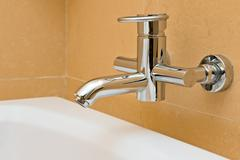 Stock Photo of water faucet