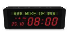 Digital alarm clock Stock Illustration