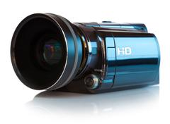 High definition camcorder - stock illustration