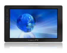 Conceptual tablet pc Stock Illustration