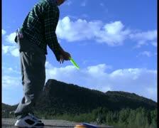Disc golf V5 - PAL Stock Footage