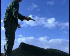 Disc golf V4 - PAL Stock Footage