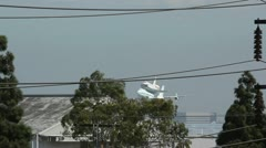 Space Shuttle Endeavour on SCA Fly-By Stock Footage
